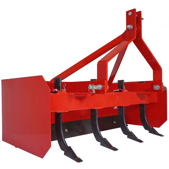 Titan Box Blade Tractor Attachment Category 1 Cat 0 Scarifier Shank