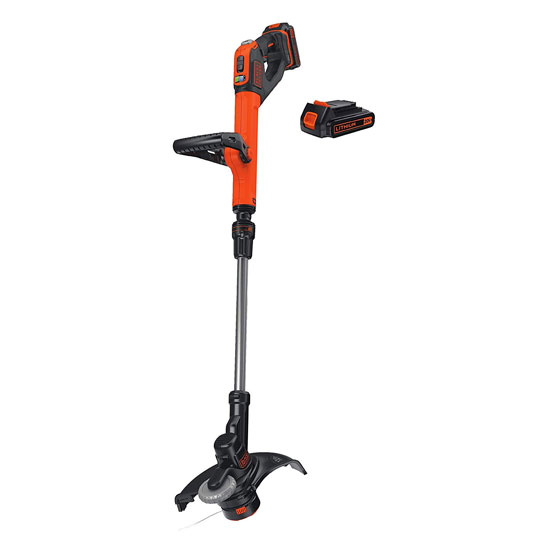 BLACK+DECKER LSTE525 20V MAX Lithium Easy Feed String Trimmer Edger