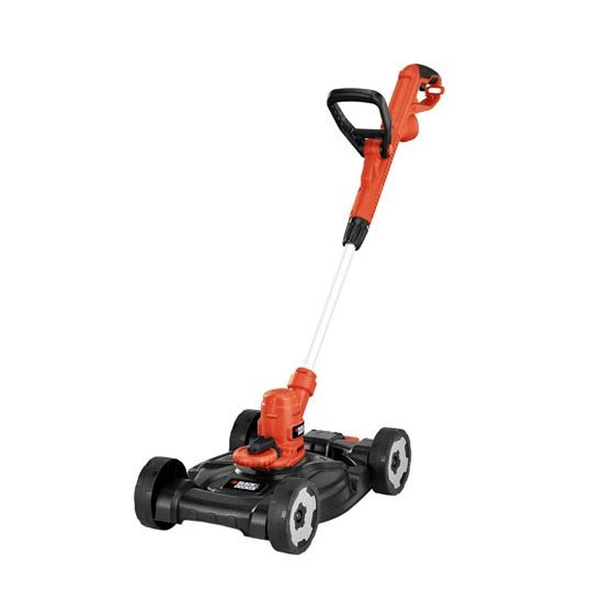 BLACK+DECKER MTE912 12-Inch Electric 3-in-1 Trimmer-Edger and Mower