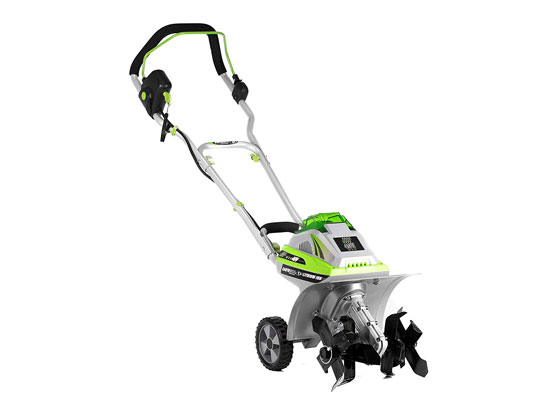 Earthwise TC70040 11-Inch 40-Volt Lithium Ion Cordless Electric Tiller