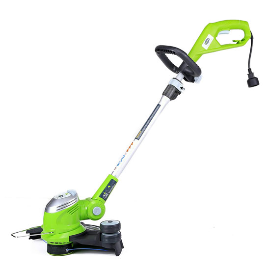 Greenworks 15-Inch 5-5 Amp Corded String Trimmer 21272