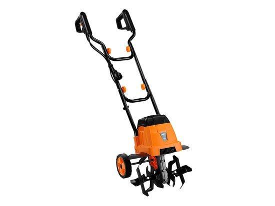 VonHaus 12.5-Inch 7 Amp Electric Tiller and Garden Lawn Cultivator
