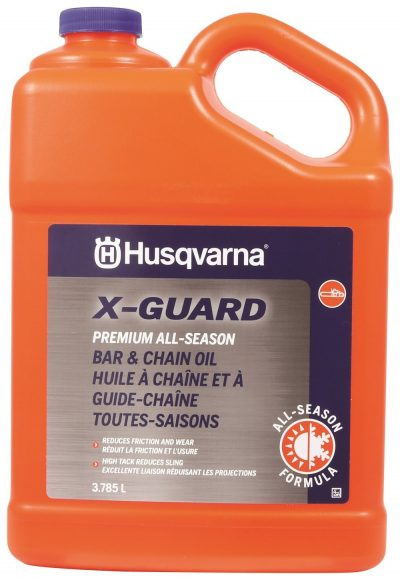 Husqvarna X-Guard Premium All Season Bar & Chain Oil, 1 Gallon