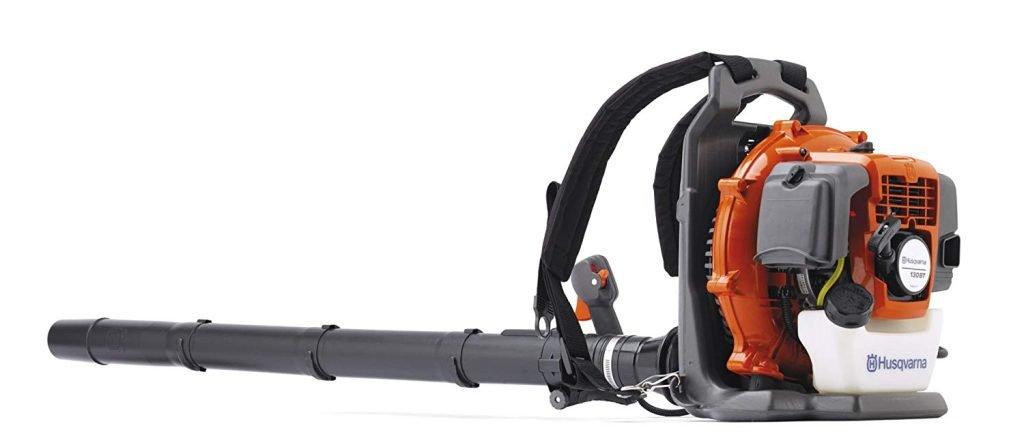 Husqvarna 130BT, 29.5cc 2-Cycle Gas 374 CFM 145 MPH Handheld Blower