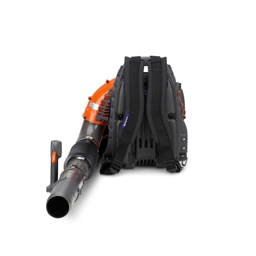 Husqvarna 360BT, 65.6cc 2-Cycle Gas 631 CFM 232 MPH Backpack Blower