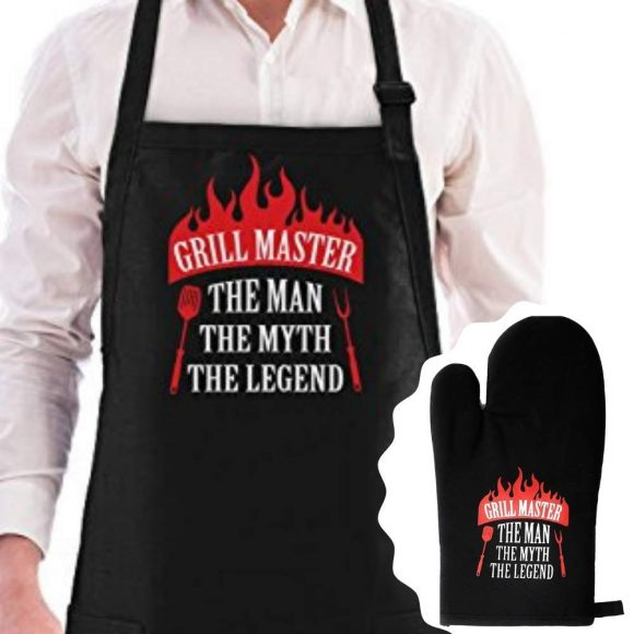 Grill Master The Man The Myth The Legend