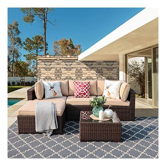 Strange Super Patio Outdoor Patio Furniture Set 5 Piece All Weather Uwap Interior Chair Design Uwaporg