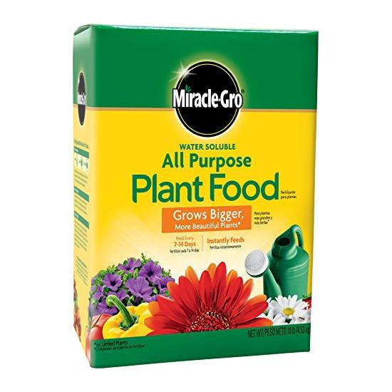 Miracle-Gro All Purpose Plant Food-10 Pound Image