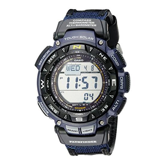 Casio Men's Pathfinder PAG240B-2CR Solar Powered Sport Watch Image