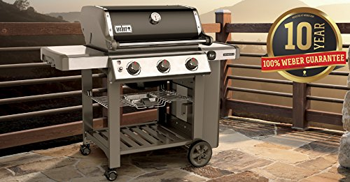 Weber 61010001 Genesis II E-310 Black LP Outdoor Gas Grill