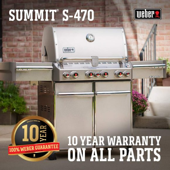 2019 Review Guide On Weber Grills:Weber Summit S-470 LP Gas Grill, 7170001