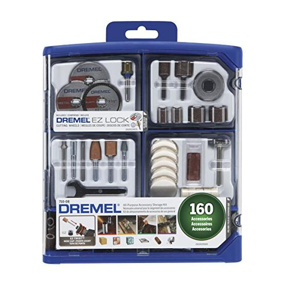 Dremel 710-08 All-Purpose Rotary Accessory Kit, 160-Piece Image