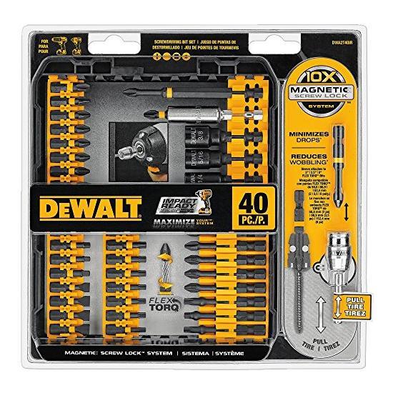 DEWALT DWA2T40IR IMPACT READY FlexTorq Screw Driving Set, 40-Piece Image