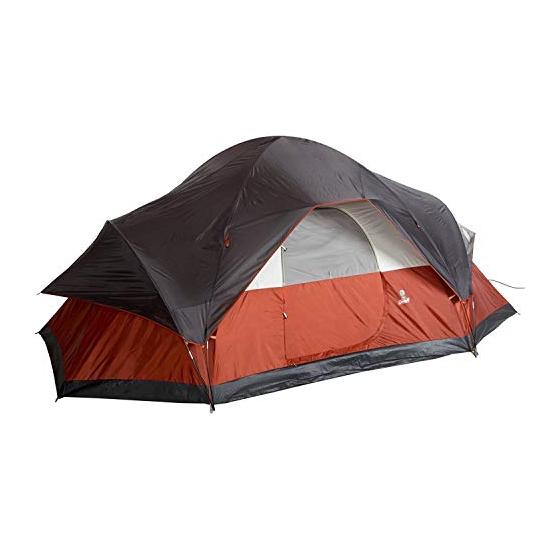 Coleman 8-Person Red Canyon Tent Image