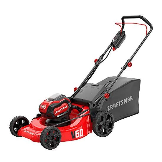 CRAFTSMAN V60 3-in-1 Cordless Lawn Mower, 21-Inch Image