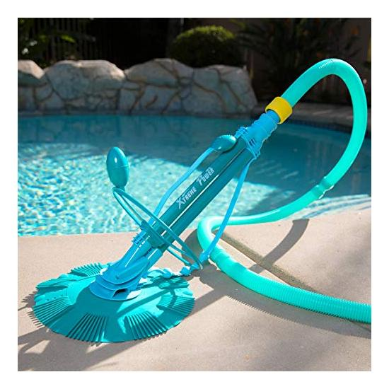 XtremepowerUS Automatic Suction Vacuum-generic Climb Wall Pool Cleaner Image