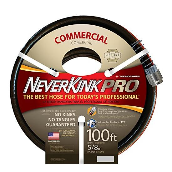 Teknor Apex Neverkink, 8844-100, PRO Water Hose, 5/8-in x 100-feet Image
