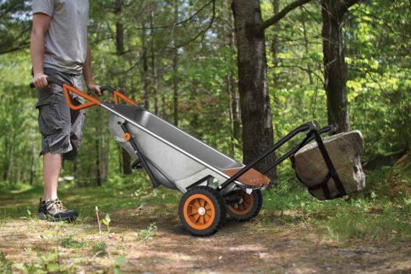 Best Wheelbarrow Reviews:WORX WG050 Aerocart 8-in-1 All-Purpose Wheelbarrow