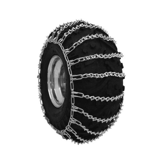 2 Link Spacing Tire Chains for ATV Trac V-Bar Tire