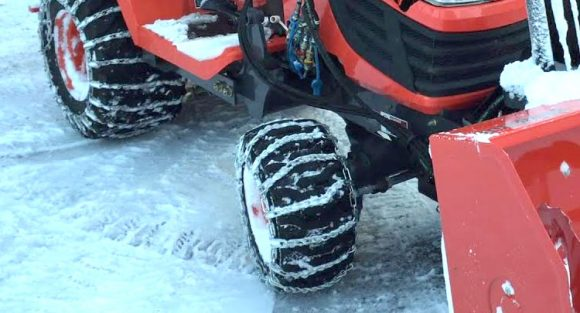 Garden Tractor Snow Chains