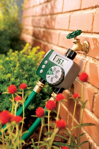 Orbit 58910 Programmable Hose Faucet Timer, 2 Outlet, Green