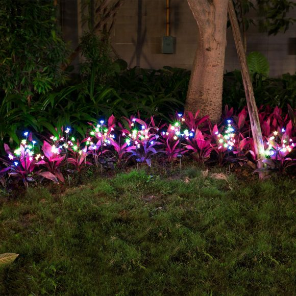 Beautiful LED Solar Powered Fairy Landscape Tree Lights