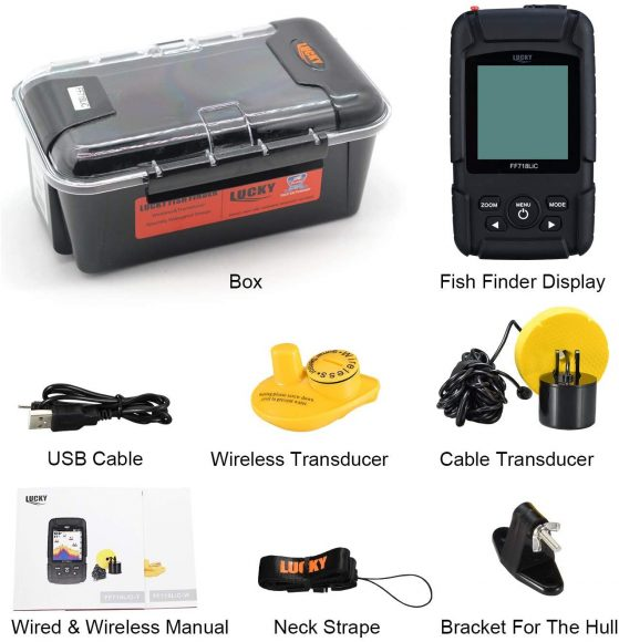 LUCKY FF718LiC  Fish Finder