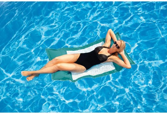 Floating Luxuries Kai Water Hammocks Swimming Pool Float