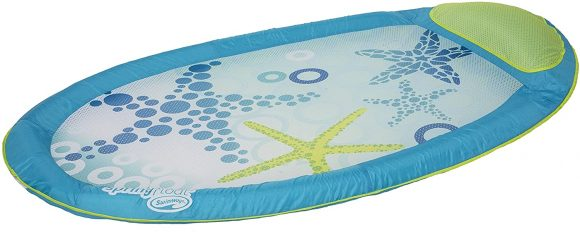 Swimways Original Spring Float Pool Lounger, Starfish