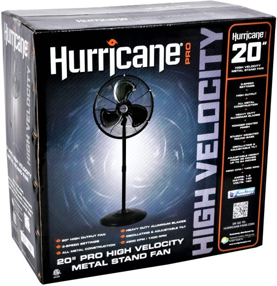 Hurricane Stand Fan