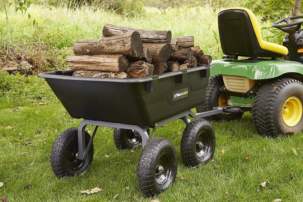 Best Dump Cart Review Guide For 2020