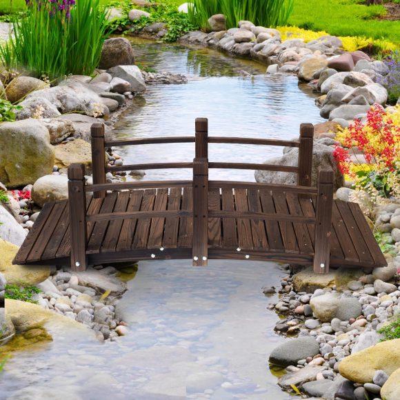 Outsunny 5ft Bridge – Best Wooden Bridge