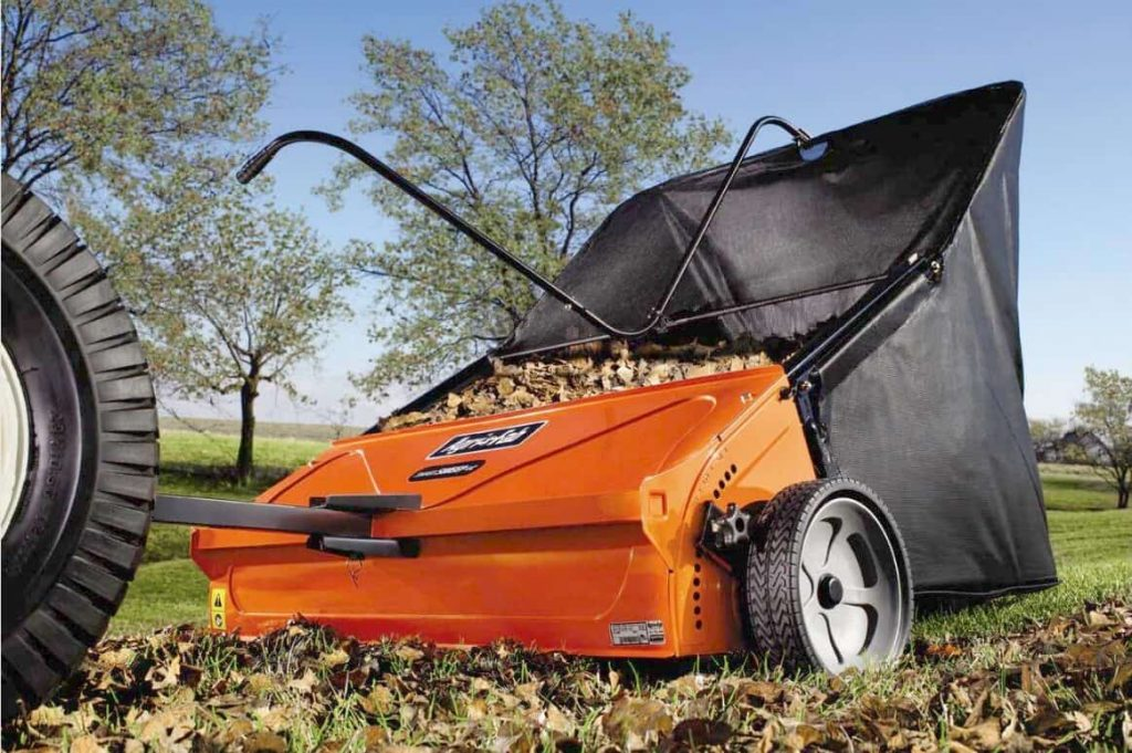 Best Lawn Sweeper Review Guide For 2020-2021