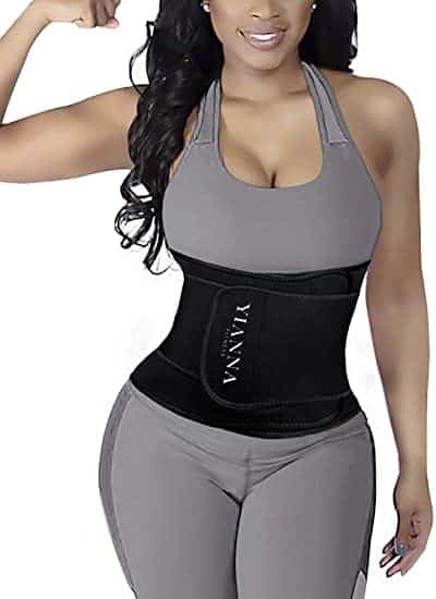 YIANNA Waist Trainer Slimming Body Shaper Belt