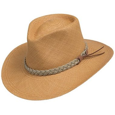 Ultrafino Authentic Aficionado Straw Panama Outdoor Sun Hat