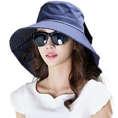 Siggi Womens' Summer Cotton Cover Sun Hat