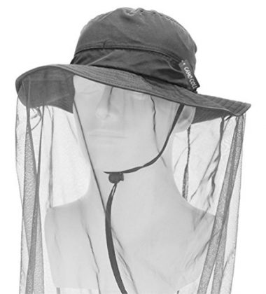 Camo Coll Outdoor Anti-Mosquito Mask Fishing Hat