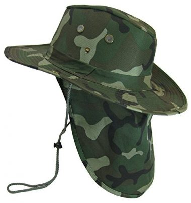 S And W Military Camouflage Fishing Hat