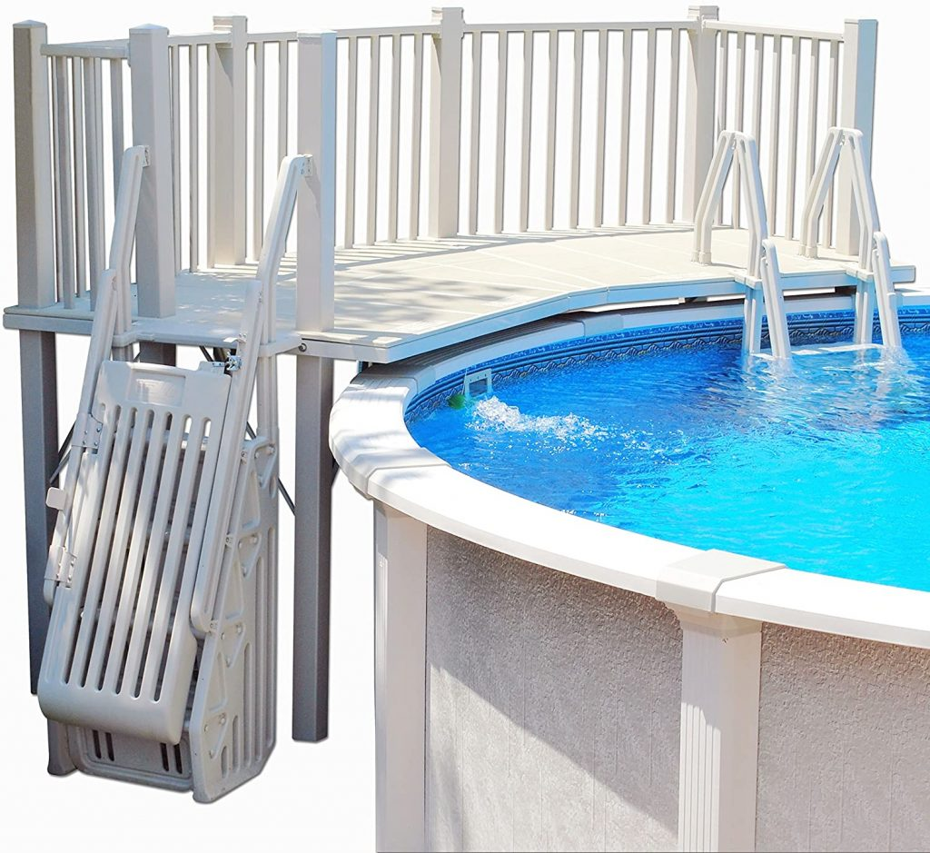 Best Vinyl Works Above Ground Swimming Pool Resin Deck Kit Review Guide For 2020-2021