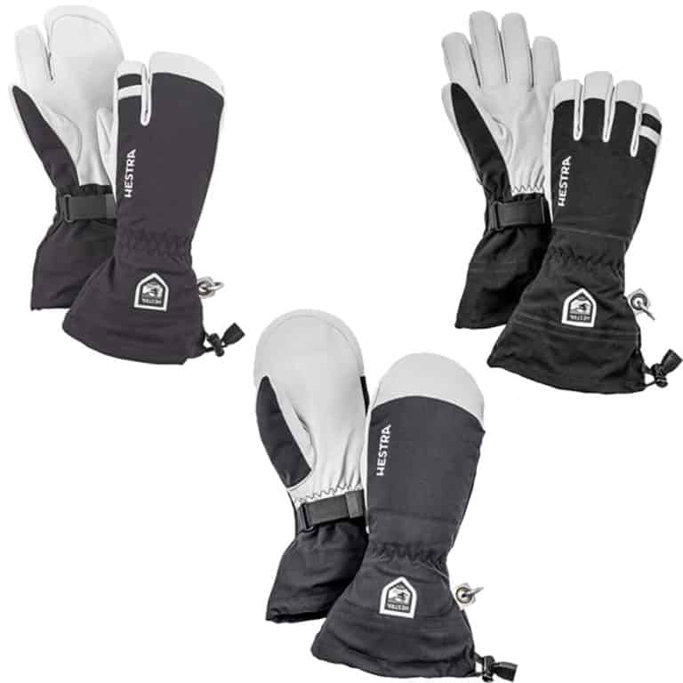 Hestra Army Leather Heli Mitten