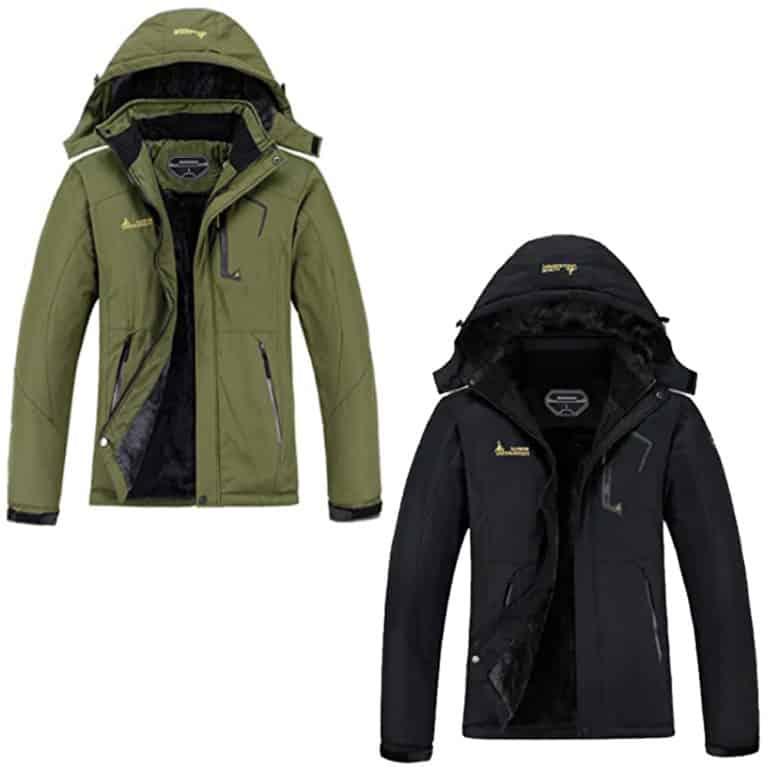 MOERDENG Waterproof Winter Snow Coat