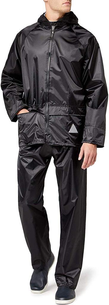 Result Men's Heavyweight Waterproof Rain Suit
