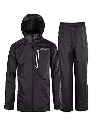 SWISSWELL Hooded Rain Suit for Men