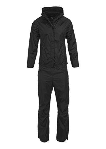 Swiss Alps Women's Lightweight Ripstop Water-Resistant Wind Resistant 2 Piece Suit